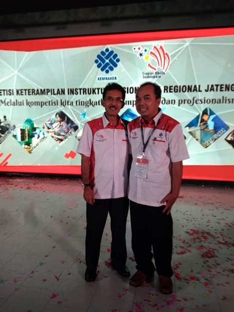 Bersama Kepala BBPLK Semarang Bapak Ir Edy Susanto MM